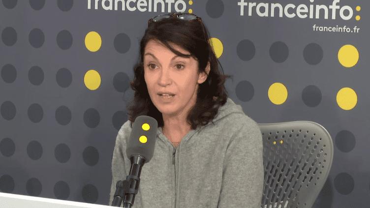 Zabou Breitman, comédienne et réalisatrice. (FRANCEINFO / RADIO FRANCE)