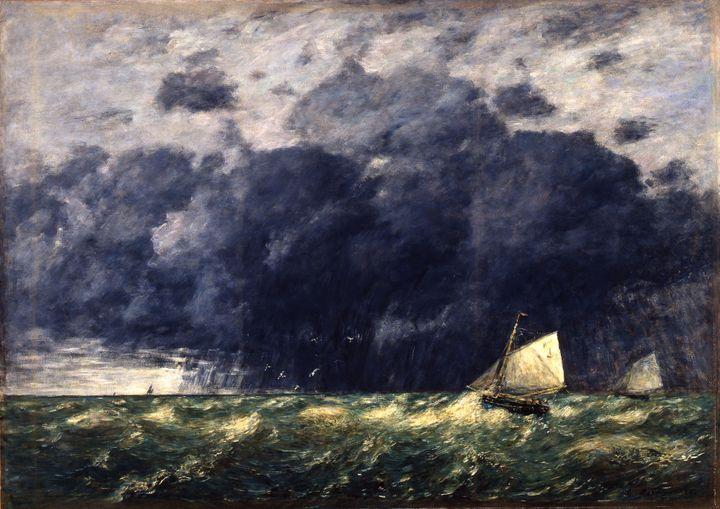 "Eugène Boudin, (1824-1898), ""Un grain"", 1886, Musée de Morlaix  (© Musée de Morlaix, Musée de France)"