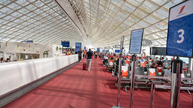 L'aéroport Roissy-Charles de Gaulle, le17 juin 2021. (SANDRINE MARTY / HANS LUCAS)