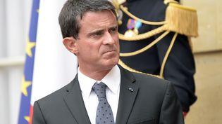 Le Premier ministre Manuel Valls à Matignon, le 5 septembre 2016. (BERTRAND GUAY / AFP)