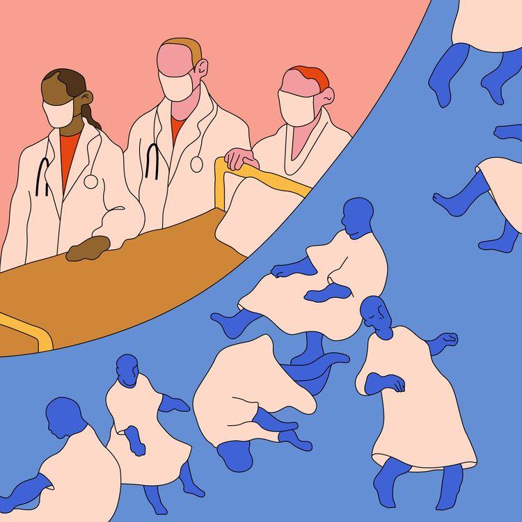 Face à la deuxième vague de Covid-19, les hôpitaux psychiatriques craignent de ne pas pouvoir répondre à toutes les demandes. (JESSICA KOMGUEN / FRANCEINFO)