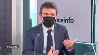 Loïc Dessaint, directeur général de Proxinvest,invité éco de franceinfo le 27 mai 2021. (FRANCEINFO / RADIO FRANCE)