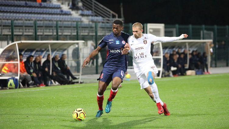 Châteauroux et le FC Metz à la bagarre (T.ROULLIAUD / MAXPPP)