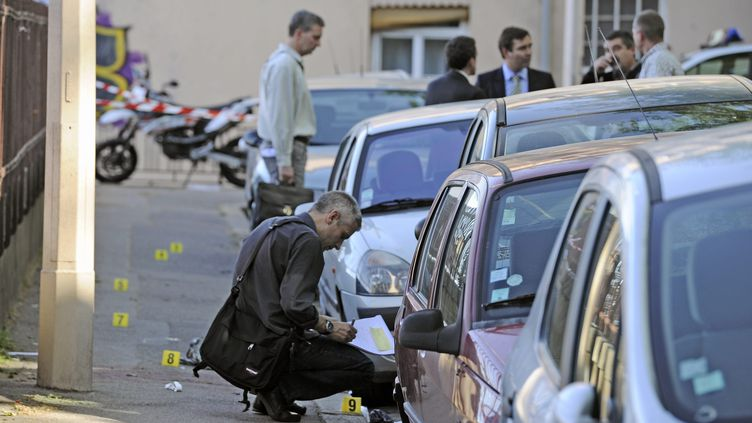 La descente dans laquelle a été tué un homme, vendredi 11 mai, à Lyon. (AUGROS PIERRE / MAXPPP)