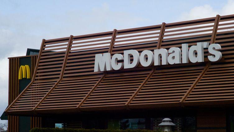 Un restaurant McDonald's. (SIMON DAVAL / MAXPPP)