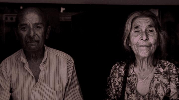 Photos de survivants du camp de Saliers retrouvés par Mathieu Pernot  (Culturebox / Capture d'écran)