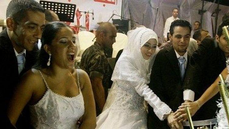 Mariage au Liban, Saïda, 2010. (JOSEPH EID / AFP)