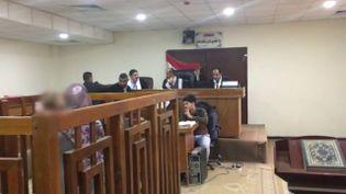 """""""Envoyé spécial"""" a assisté au premier procès d'une jihadiste français en Irak (FRANCE 2 / FRANCETV INFO)"""