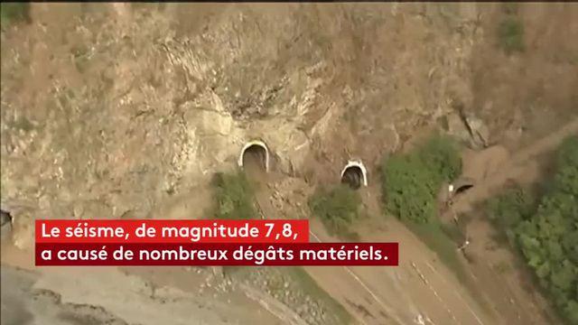 """""""Des scènes de dévastation absolue"""" après un séisme en Nouvelle-Zélande"""