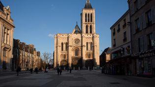 Vue de la basilique de Saint-Denis, février 2014 (MANUEL COHEN / AFP)