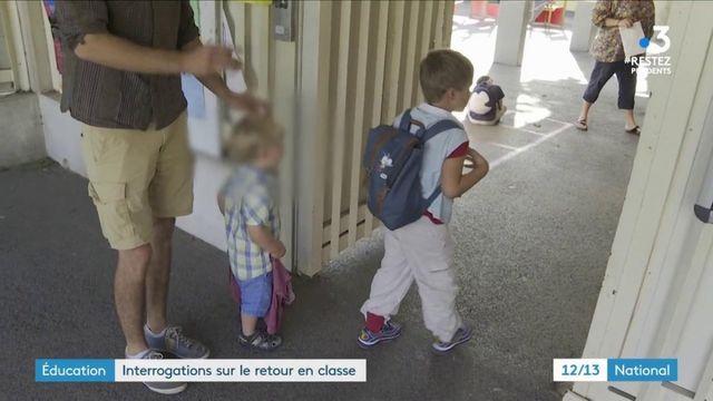 École : le protocole sanitaire assoupli pour le retour en classes