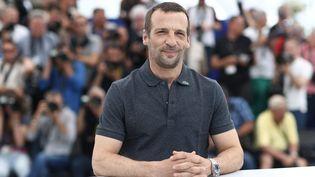 L'acteur Mathieu Kassovitz au festival de Cannes (Alpes-Maritimes) le 22 mai 2017. (MAXPPP)