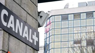 Le siège de Canal + à Issy-les-Moulineaux.  (JOEL SAGET / AFP)