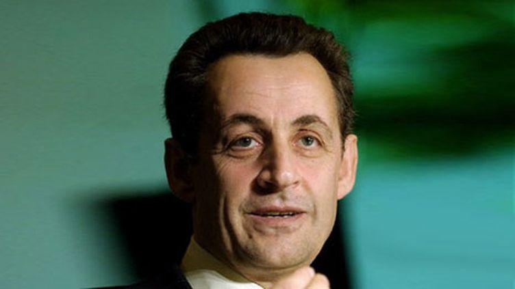 Nicolas Sarkozy (AFP/Tal Cohen)
