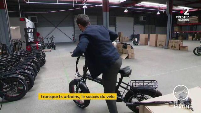 Déconfinement : le vélo électrique plébiscité par les urbains