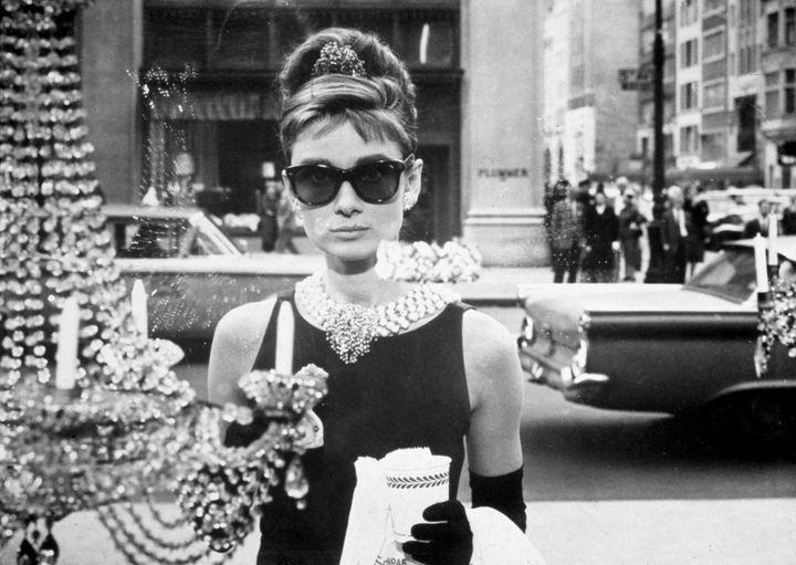 1961: Audrey Hepburn dans 'Breakfast at Tiffany's  (Getty Images)