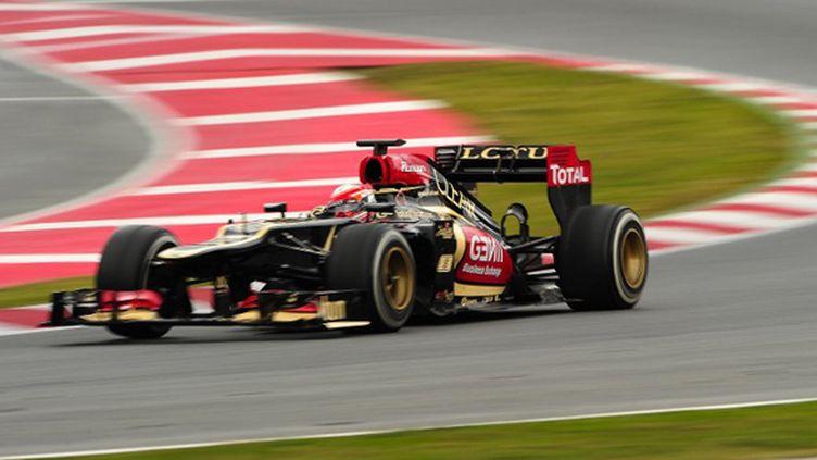 Romain Grosjean (Lotus) (JOSEP LAGO / AFP)