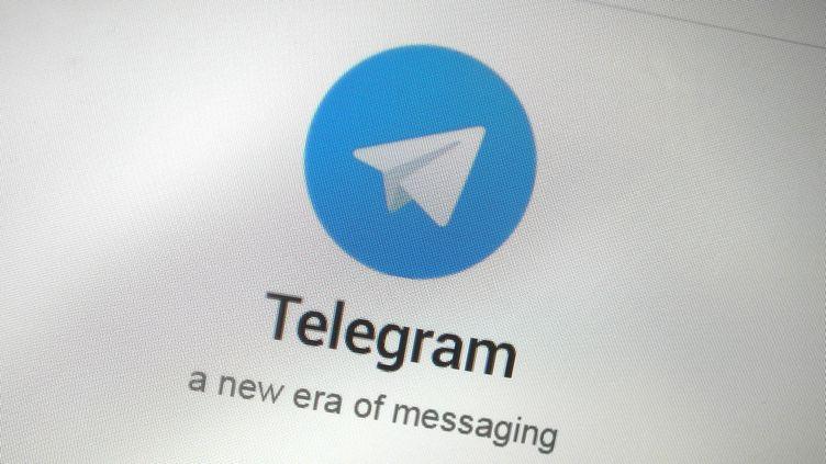 Le logo de l'application Telegram, qui permet d'établir des communications chiffrées. (THOMAS WHITE / REUTERS)