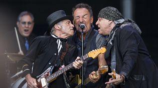 Bruce Springsteen et son E-Street Band à Oslo le 28 juillet 2016.  (Roald Berit / NTB Scanpix Mag /AFP)