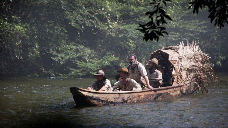 "Angus Macfadyen, Charlie Hunnam, Edward Ashley et Robert Pattinson dans ""The Lost City of Z"" de James Gray  (StudioCanal / Aidan Monaghan)"