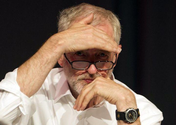 Jeremy Corbyn. (AFP PHOTO / LESLEY MARTIN )