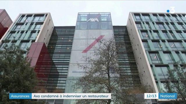 Crise : pour la première fois depuis le début de la pandémie, Axa est condamné à indemniser un hôtelier-restaurateur