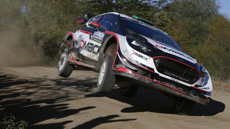 Elfyn Evans (Ford Fiesta)  (DIEGO LIMA / AFP)