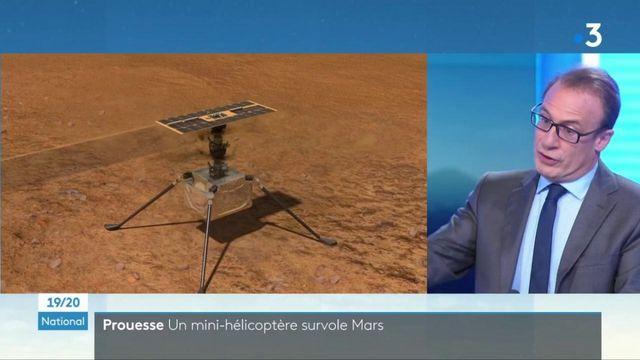 Espace : un mini-hélicoptère de la NASA a fait son premier vol sur Mars