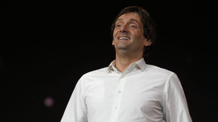 Pierre Palmade lors d'un spectacle en mars 2013. (LIONEL VADAM / MAXPPP)