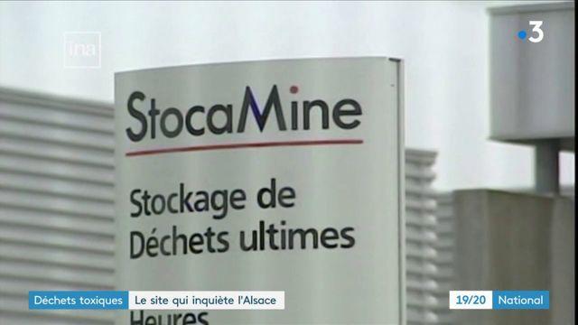 Déchets toxiques: le site qui inquiète l'Alsace