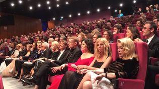 L'hommage des actrices à André Téchiné au Festival de Cannes.  (Lorenzo Ciavarini Azzi / Culturebox)