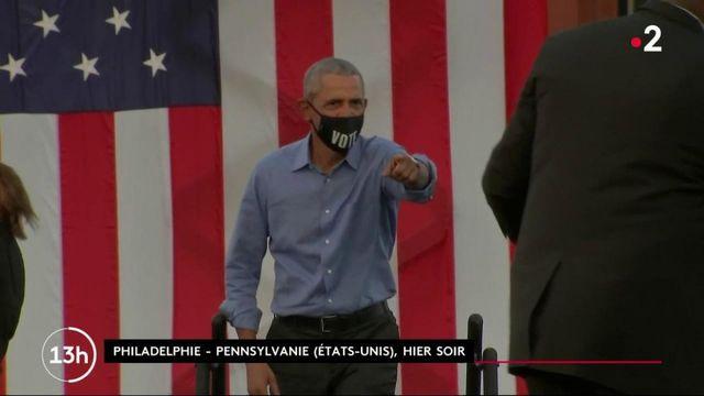 Élection présidentielle américaine : Barack Obama abat sa dernière carte