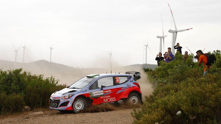 Hayden Poddon est toujours en tête du Rallye de Sardaigne (FRANCOIS BAUDIN / AUSTRAL)