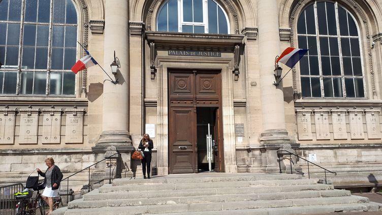 Le palais de Justice de Chalons-en-Champagne. (MATHILDE LEMAIRE / RADIO FRANCE)