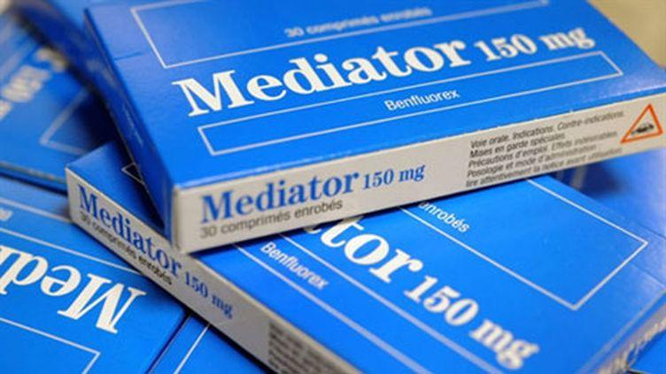 Le Médiator: un médicament retiré de la vente en 2009 (AFP - FRED TANNEAU)