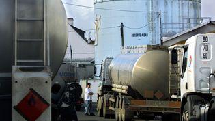 Dépôt de pétrole de Lorient. (illustration) (FRED TANNEAU / AFP)