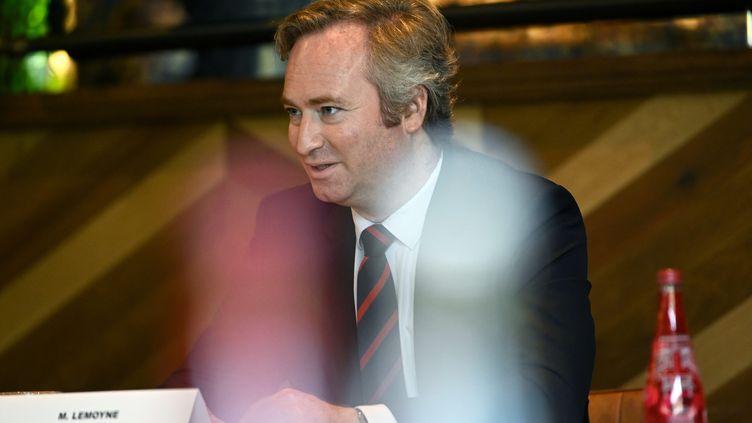 Jean-Baptiste Lemoyne, le secrétaire d'État au Tourisme, le 15 mai 2020 à Orléans. (PASCAL PROUST / MAXPPP)