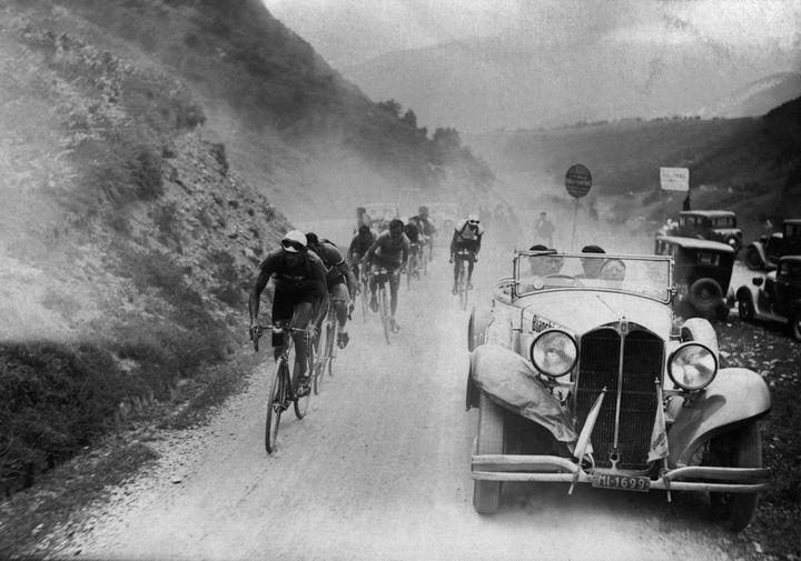 Une image du Tour de France 1934, qui a été remporté par le Français Antonin Magne. (AFP)