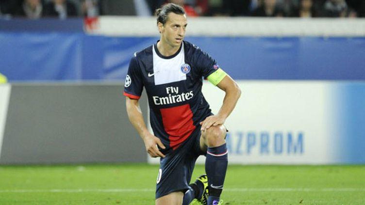 L'attaquant du PSG Zlatan Ibrahimovic