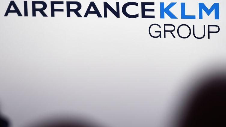 Le gouvernement néerlandais a acheté700millions d'euros d'actions AirFrance-KLM(illustration). (ERIC PIERMONT / AFP)
