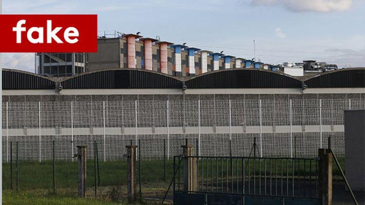 La prison de Fleury-Mérogis (photo d'illustration). (GEOFFROY VAN DER HASSELT / AFP)