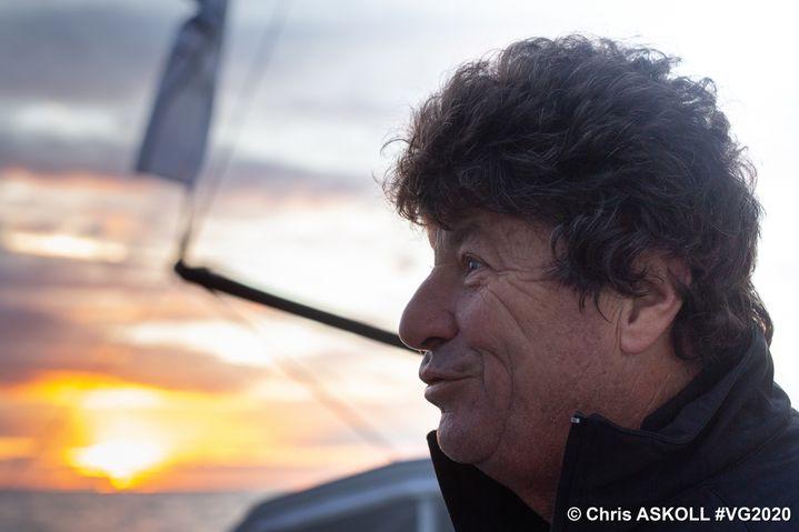 Jean Le Cam face à l'horizon