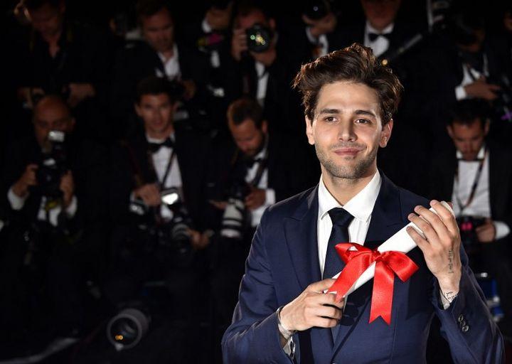 Xavier Dolan, Grand Prix au dernier festival de Cannes   (LOIC VENANCE / AFP)