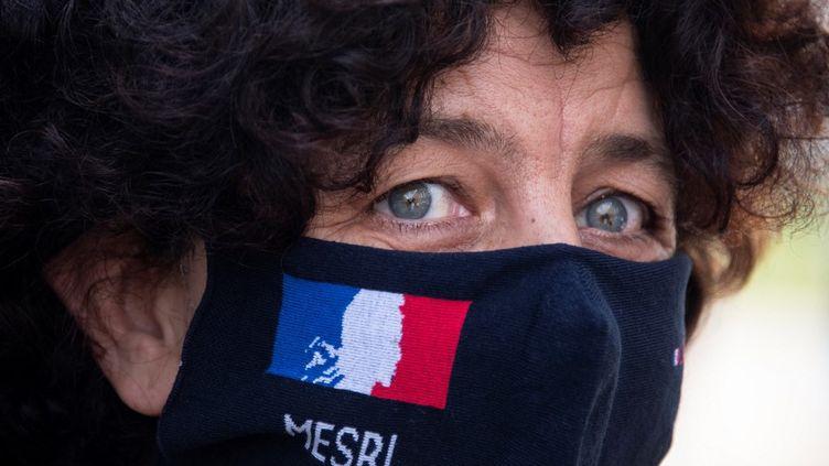 Frédérique Vidal, la ministre de l'Enseignement supérieur, le 1er octobre 2020, à Paris. (SEBASTIEN BOZON / AFP)