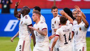La Belgique, ici en amical face à la Croatie, débute leur compétition par un gros test face à la Russie. (JEROEN MEUWSEN / ORANGE PICTURES)