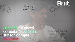 VIDEO. Sur Instagram, Jüne Plã dessine une sexualité décomplexée (BRUT)