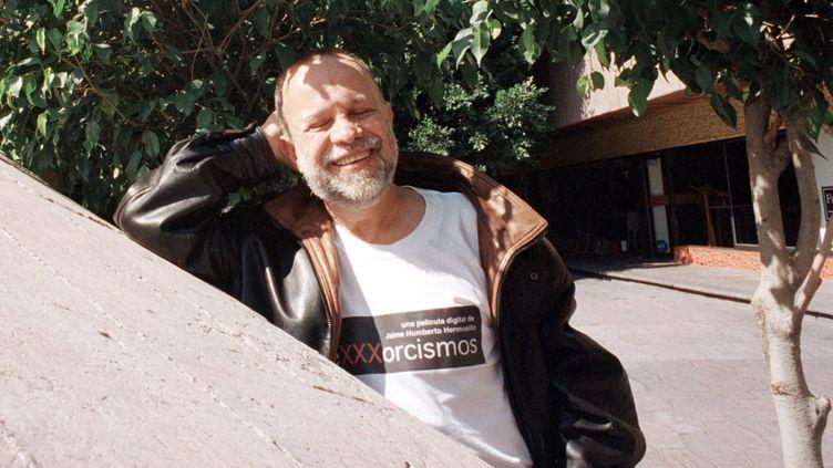 Le réalisateur mexicainJaime Humberto Hermosillo à Meciso, le 17 janvier 2002 (YESSICA SANCHEZ / NOTIMEX / AFP)