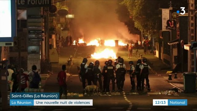 Nouvelle nuit de violence à La Réunion