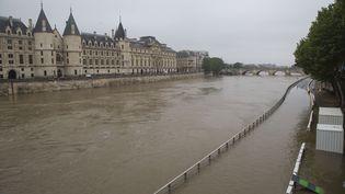 La Seine, prise en photo à Paris le 1er juin 2016. (CITIZENSIDE / CAROLINE PAUX / AFP)