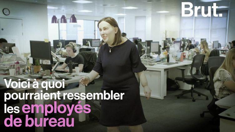 VIDEO. Emma, celle qui ne présage rien de bon pour la santé des employés de bureau (BRUT)